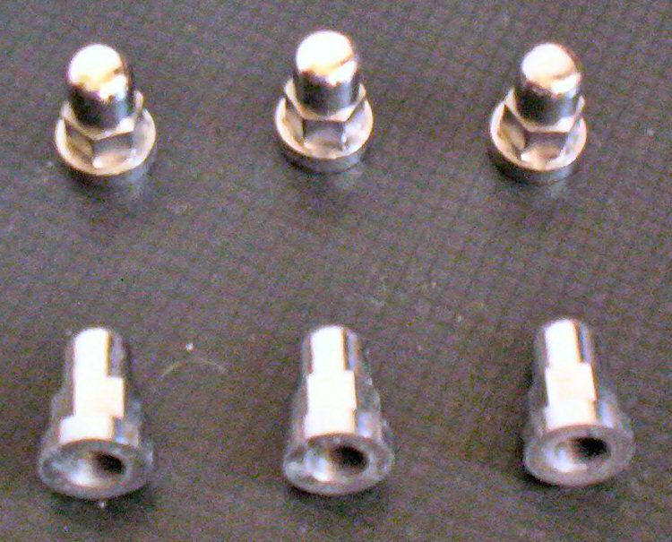 M10 x 1.25 Deep Dome Cylinder Head Nuts